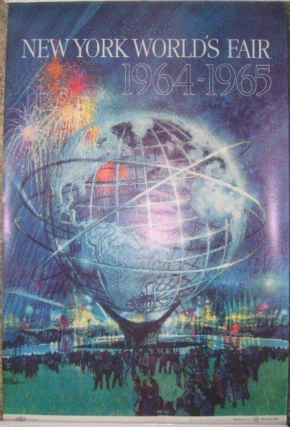 1: 1964 New York World's Fair Poster by Bob Peak