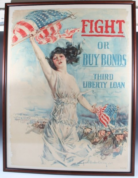 8: 1917 WWI Howard Chandler Christy Poster