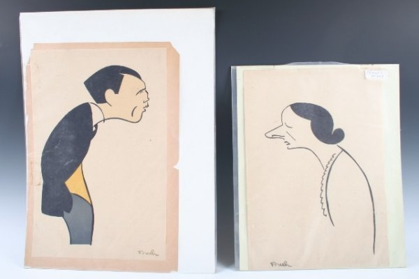342: Frueh Prints - Roland Young & Frances Starr