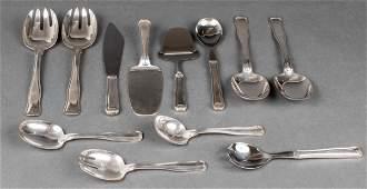 "Georg Jensen ""Old Danish"" Silver Serving Pieces 12"