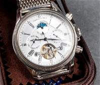 Constantin Weisz Stainless Steel Automatic Watch