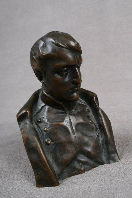 22: 19th C. French Bronze Sculpture of Napoleon
