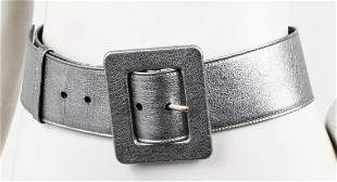 Yves Saint Laurent Metallic Leather Belt