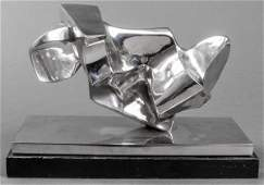 Anthony Padovano Stainless Steel Sculpture 1967