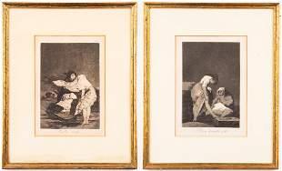 "Francisco Goya ""Los Caprichos"" Etchings, 2"