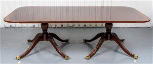 George III Style Mahogany Extension Dining Table