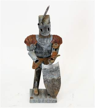 Medieval Suit of Armor of Diminutive Proportions
