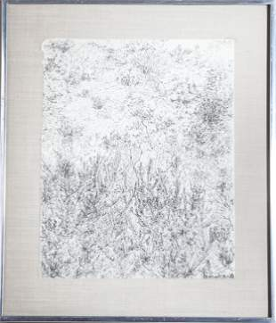 Jane Teller Abstract Landscape Lithograph on Paper