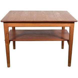 Johannes Hansen Danish Modern Side Table