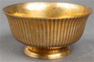Brass Bowl on Footed Base