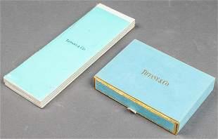 Tiffany & Co. Playing Cards & Bridge Cards, 2 Pcs.