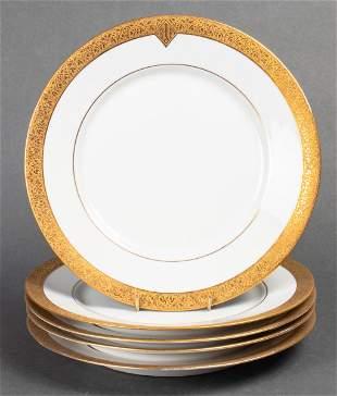 Hutschenreuther Selb Porcelain Dinner Plates, 5