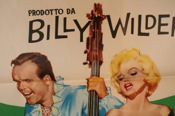 Some Like It Hot Italian Movie Poster 1959 - 3