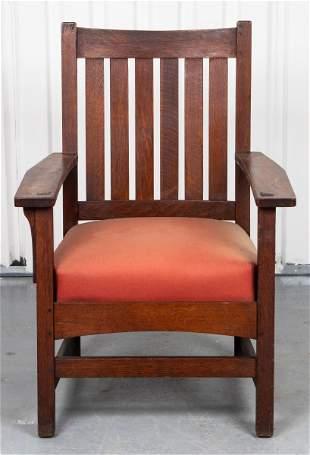 Stickley Mission Oak Armchair