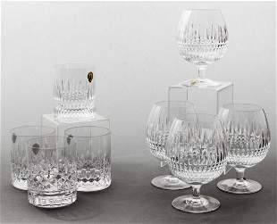 Waterford Cut Crystal Snifters & Tumblers, 8