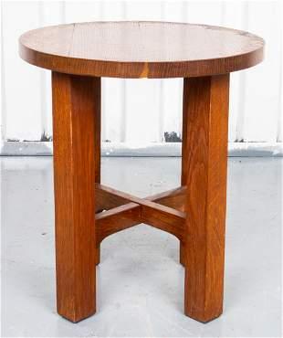 Stickley Oak Side Table