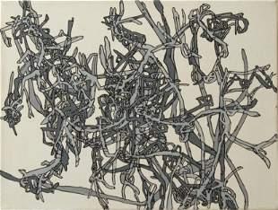 Lance Goldsmith Untitled Acrylic on Canvas