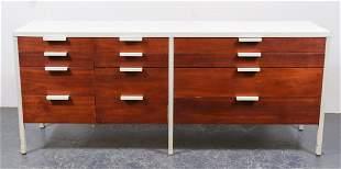 Mid-Century Modern Laminate Top Dresser