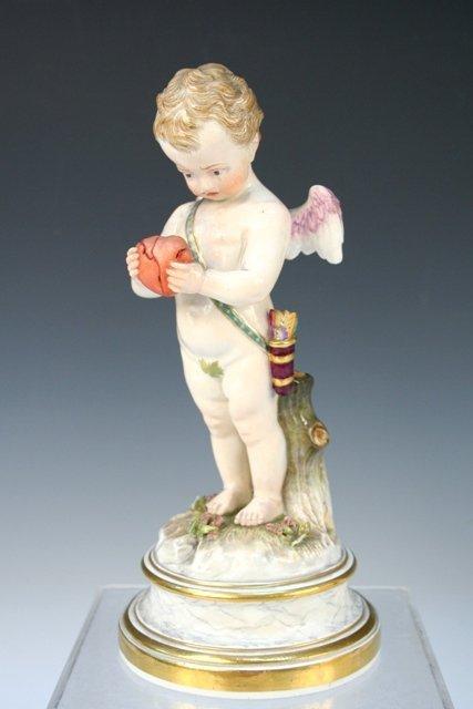 Meissen L-Series Porcelain Putto/Cupid Figure