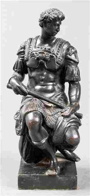 "Grand Tour ""Giuliano de Medici"" Bronze Sculpture"