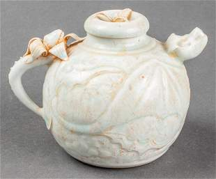 Chinese Qingbai Pottery Water Dropper