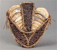 Papua New Guinea Pig Tusk & Seed Pectoral Ornament