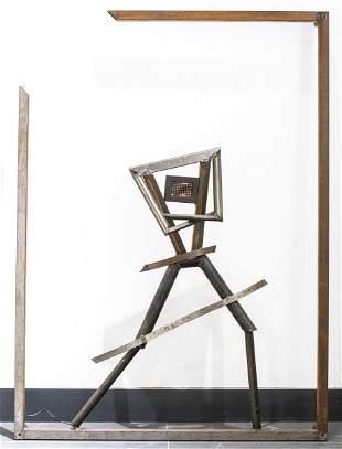Jenny Holzer Survival Series LED & Steel Sculpture