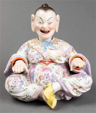 Meissen Porcelain Nodding Pagoda Figure