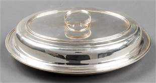 Eugenio Stancampiano Silver Covered Vegetable Dish