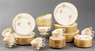 """Lenox """"Daybreak"""" Porcelain Dinner Service, 75 Pcs"""