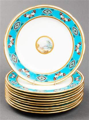 Christopher Dresser Minton Porcelain Plates,10