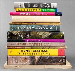 Group Of Books On Art And Artists, 13
