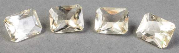 10.90 Cttw. Loose Yellow Labradorite Stones 4