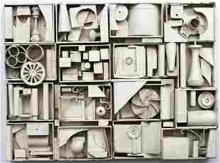 Attributed to Louise Nevelson Modern Sculpture
