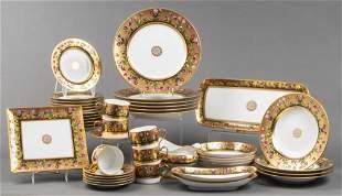 "Bernardaud ""Heloise"" Porcelain Dinner Svc. 43 Pcs."
