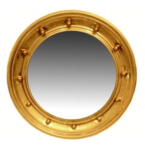 Mid-Century Regency-Style Gold-leafed Mirror