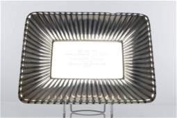 Reed & Barton Sterling Silver Presentation Plate