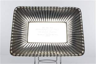 Reed & Barton Sterling Silver Presentation Plate