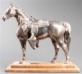 Gladys Brown Edwards Silver Horse Trophy