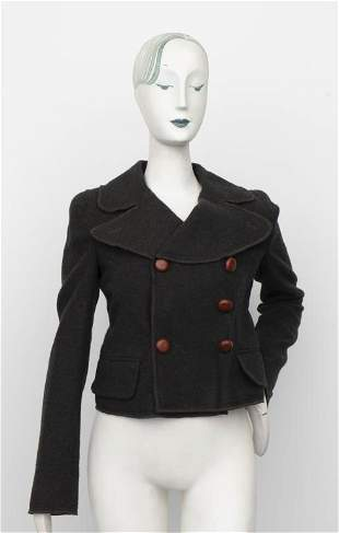 Dolce & Gabbana Wool Double Breasted Jacket