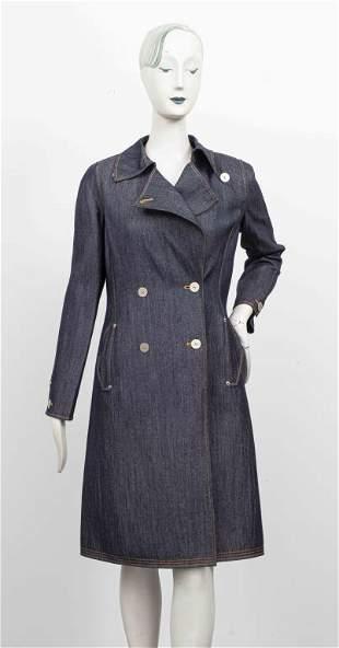 Oscar De La Renta Denim Coat / Jacket
