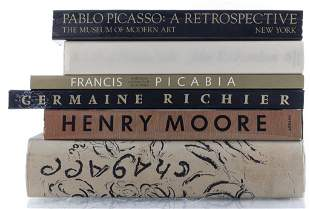 Books on Modern Artists, Group of 6
