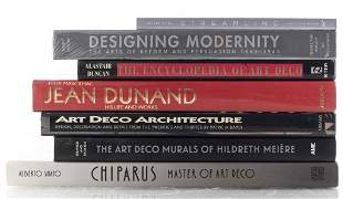 Books on the Art Deco Period, Group of 7