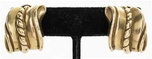 Barry Kieselstein-Cord 18K Yellow Gold Earrings