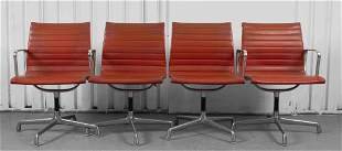Eames Herman Miller Aluminum Group Chairs, 4
