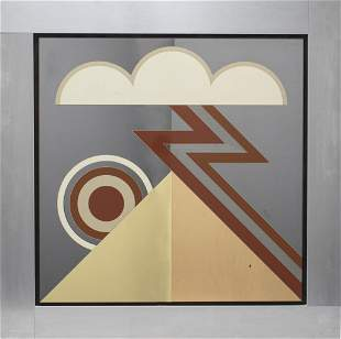 Greg Copeland Studio Pop Art Mirror, 1977