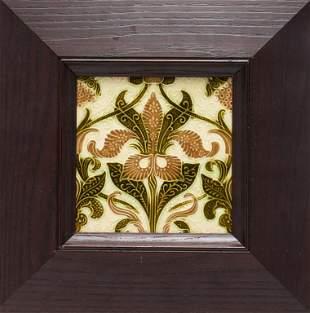 English Arts & Crafts Pilkington's Pottery Tile