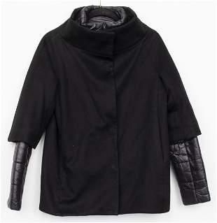 Herno Italian Cashmere Coat W Padded Underlay