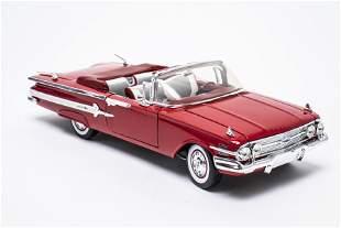 1960 Chevrolet Impala Convertible Die Cast Toy Car