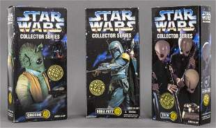 Star Wars Collector Series Action Figures, 3 PCS.